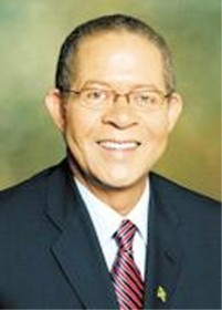 Jamaican Prime Minister Bruce Golding