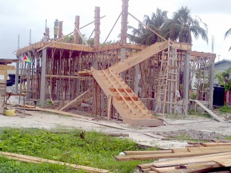 The commencement of the construction of the community centre.
