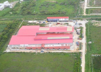 An aerial view of the Giftland Complex