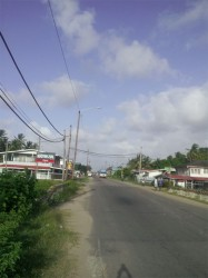 A section of the village