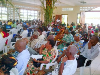 A section of the audience during yesterday's Conference