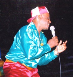 Now retired from competing, the Mighty Rebel, a consummate performer has won the local Calypso Monarch Competition several times. (Stabroek News file photo)