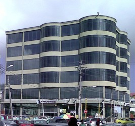 The Teleperformance building.