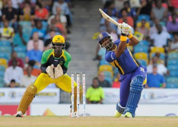 Dwayne Smith scored 56 for the Barbados Tridents.