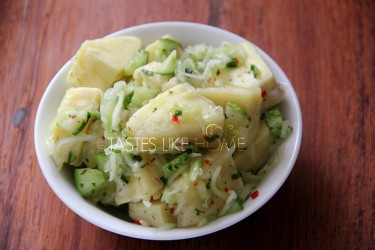 Pickled Breadfruit (Photo by Cynthia Nelson)