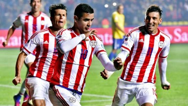 Derlis Gonzalez scored a late penalty in regulation and then the clincher in the shootout as Paraguay advanced.