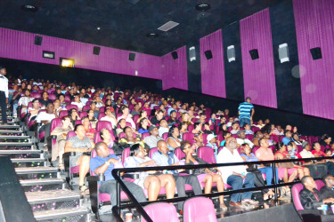 Full House: Cinema patrons at the Giftland Complex