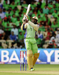 Twenty20 superstar Chris Gayle … was the first pick for Lahore Qalanders.