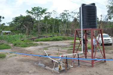The well in Hururu Mission