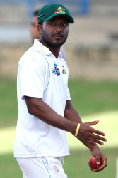 Veerasammy Permaul took five wickets