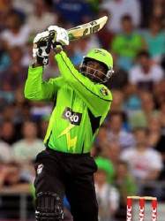 West Indies star Chris Gayle will be turning out for Melbourne Renegades during the Big Bash.