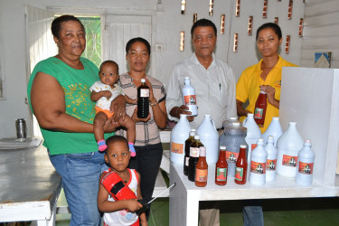 The Corlette family and part of the Supreme range of products