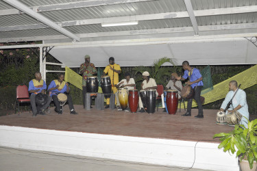 Indian and African fusion drumming