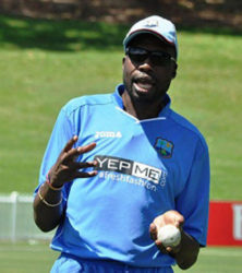 Legendary former fast bowler and West Indies team bowling consultant, Sir Curtly Ambrose.