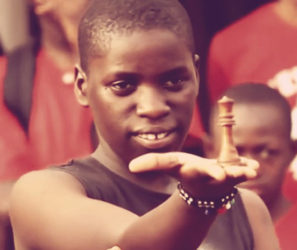 International chess player from Uganda Phiona Mutesi is photographed holding the chess queen in her palm, her favourite chess piece. A Disney film about Mutesi's road to becoming an accomplished chess player, The Queen of Katwe starring Oscar winner Lupita Nyong'o, is set to be released in September. Mutesi has inspired a fair number of young women to play chess.