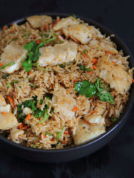 Fish Fried Rice Photo by Cynthia Nelson