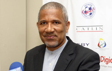 CONCACAF presidential candidate, Larry Mussenden.