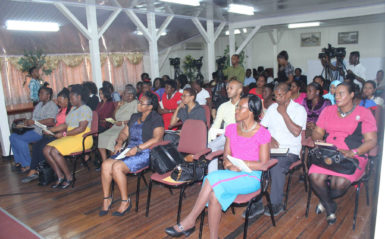 A section of the audience at the launching (GINA photo)