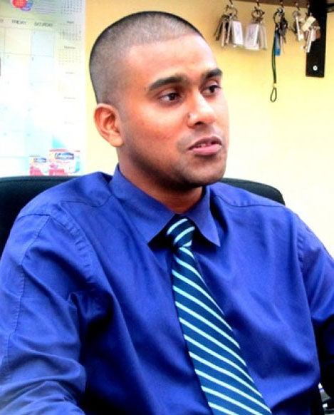 Former director of the Vector Control Services Dr Reyaud Rahman