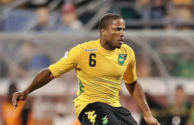 Reggae Boy Jermaine Taylor … his own goal helped New England earn a draw against Portland Timbers.