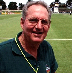 Late international cricket broadcaster, Tony Cozier.