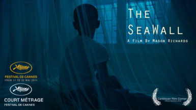 The poster for The Seawall (short film)