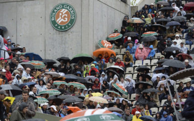 For the second day in a row, poor weather conditions interrupted the schedule at Roland-Garros, leading to matches being suspended several times throughout the day.