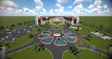 Cycling enthusiasts are lobby government for the erection of a cycling velodrome at the planned world class D'Urban Arena planned for the Lodge area.