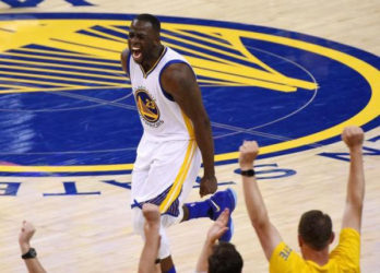Draymond Green was outstanding as the Golden State Warriors took a 2-0 lead over the Cleveland Cavaliers Sunday.
