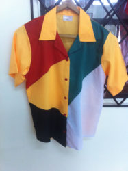 One of the shirt produced for Guyana's Golden Jubilee