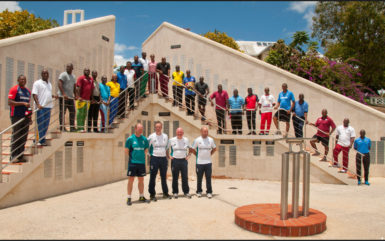 The attendees of the WICB/ECB Level Three Coaches course in Barbados.