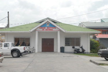 The Cancer Institute of Guyana located in the Georgetown Public Hos-pital compound for the past decade has been providing hope for patients living with cancer.