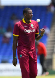 NOT PLEASED: Captain Jason Holder says West Indies should have done better with the ball.