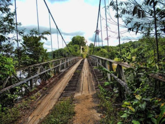 The Denham Suspension Bridge at Garraway Stream  (GINA photo)