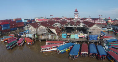 The Stabroek Market wharf (SN file photo)