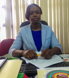 Director of the Maternal and Child Health Department of the Ministry of Public Health, Dr Earthaneisa Hamilton.