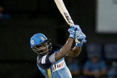 Opener Johnson Charles … top-scored with 52 for St Lucia Zouks.
