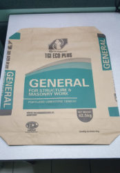 The new TCL tamper-proof cement bag