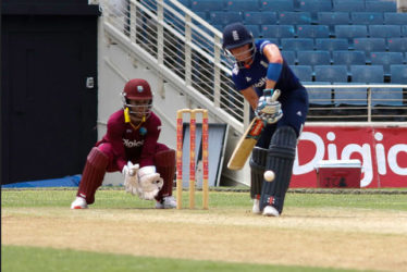Lauren Winfield played each ball on its merit during her topscore of 79 which came off 111 balls.