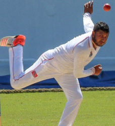 John Russ-Jaggesar picked up two wickets in two balls to hasten Sri Lanka A's demise.