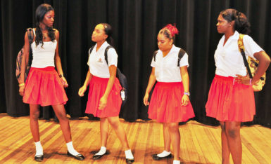 Artistes in Direct Support using drama for AIDS awareness