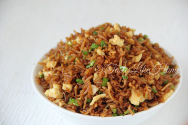 Soy Sauce Fried Rice (Photo by Cynthia Nelson)