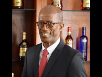 Clement 'Jimmy' Lawrence, chairman of J. Wray & Nephew Limited.