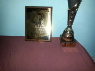 The hardware the 'Green Machine' will return with from the Rugby America's North (RAN) 7s championship which was staged in Trinidad over the weekend.