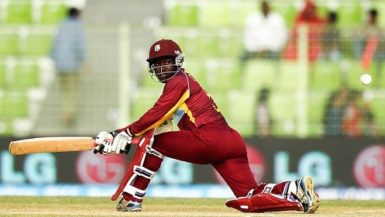 Middle order batsman Deandra Dottin … top-scored with 61. (file photo)
