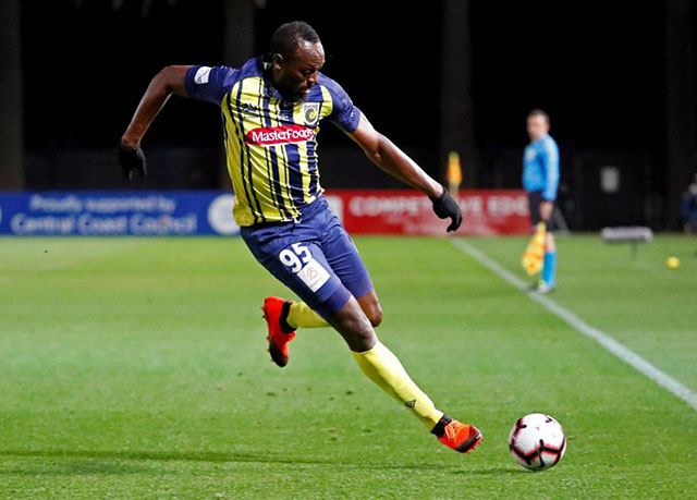 Bolt trial finished at Central Coast Mariners – Stabroek News 7dfdd13f7b
