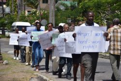 United Labour Protests Against Rusal Dismissals