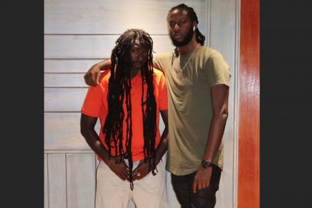 Markus Myrie (right) with his father Buju Banton via Instagram – via Instagram @1realmarkus