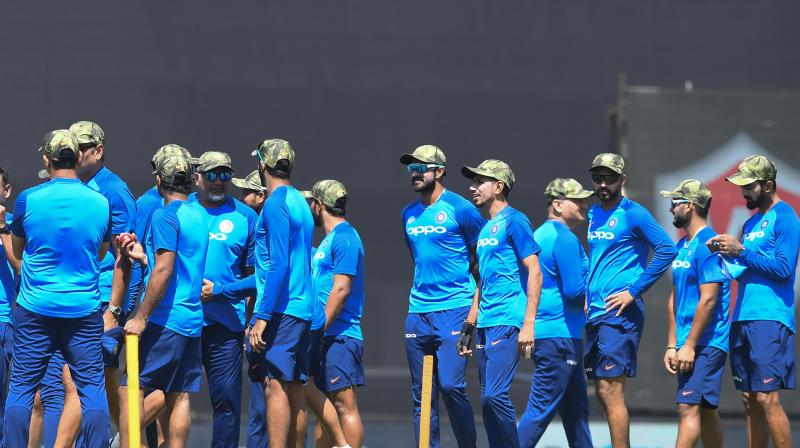 Pakistan wants ICC action against Indian team for wearing army caps