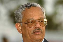Late former West Indies cricket president, Pat Rousseau.